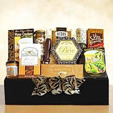 napa valley treres gourmet gift basket