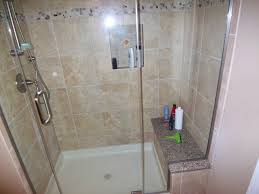 replace bathtub with walk in shower. guest bath replaced tub with walk-in shower transitional-bathroom replace bathtub walk in
