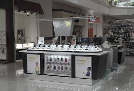 Cell Phone Mall Kiosk Displays For Retail Store Sales Of New Cell Phones