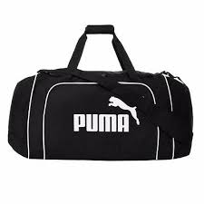 Mens, Womens Puma <b>Team Large</b> Sports <b>Holdall</b> Gym Sports Duffle ...
