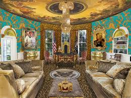 the oval office. and my newly decorated office for president trump the oval