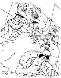 Small Picture Kids n funcom 46 coloring pages of Chicken Run