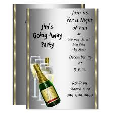 Invitation Cards For Farewell Party Farewell Party Invitation Card Zazzle Com