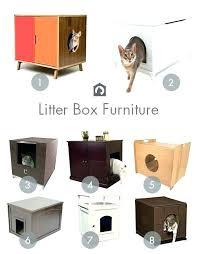 cat box furniture litter diy ikea plans