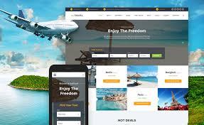 Travel Templates 10 Mobile Friendly Travel Tourism Website Templates _