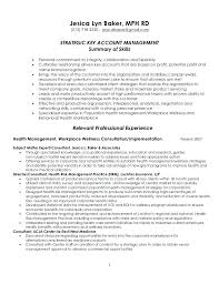 Cv For Account Manager Senior Account Manager Resume Sample Template Key National Cv