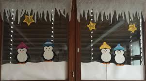 Fensterbilder Pinguine Klassenkunst