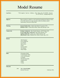 A Model Of Resume Model For Resume Cancercells 9