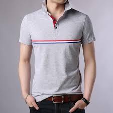 <b>2019 New Fashion</b> Brands Summer Polo Shirt <b>Mens</b> Solid Color ...