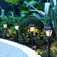 solar powered patio lights solar outdoor