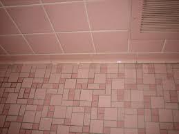 gallery pink black bathroom
