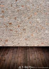 wood floor and wall background. 2018 Light Brown Brick Wall Wooden Floor Wedding Children Vinyl Photography  Backdrop Custom Photo Prop Backgrounds 5x7ft From Harmonyphography, Wood Floor And Wall Background