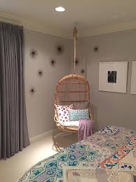 hanging chairs for girls bedrooms. Girl Room With Corner Hanging Rattan Chair View Full Size Chairs For Girls Bedrooms A