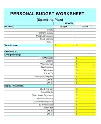 Personal Finances Spreadsheet Excel Personal Finance Spreadsheet Finances Template Income