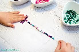 colorful beaded friendship bracelets