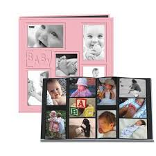 baby collage frame pioneer 12 x 12 album 240 4 x 6 inch photo pockets embossed