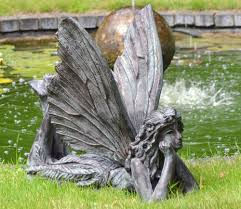 fairy laying garden ornament