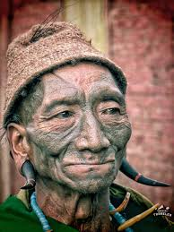 nagaland vist the last headhunters in unusual traveler nagaland tribe head hunter face tattoo