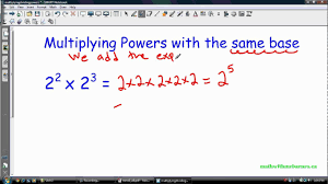 math laws math 9 exponent laws i multiplying and dividing powers youtube