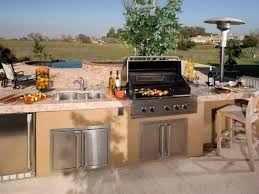 stainless steel gas stove wooden gazebo cover covered outdoor kitchen design ideas simple stainless steel propane