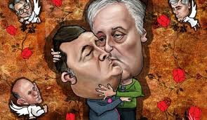 Image result for dodik i covic karikature