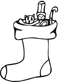 christmas stocking clipart black and white. Beautiful Stocking Christmas Stocking Clip Art Black And White 13 To Clipart K