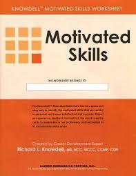 Transferable Skills Worksheet Motivated Skills Worksheet Pkg 25 Acer