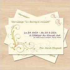 Carte De Invitation Gb 3e