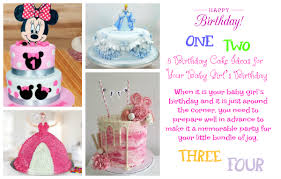 8 Birthday Cake Ideas For Your Baby Girls Birthday Oh My Heartsie