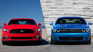 ford mustang vs dodge challenger