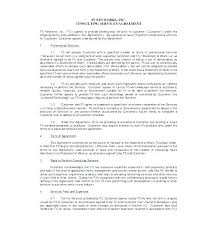 Statement Of Work Template Consulting Professional Sample Documents ...