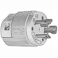 amazon com hubbell hbl26cm11 30 amp 125 volt twist lock plug 30 amp 125 volt plug wiring diagram hubbell hbl26cm11 30 amp 125 volt twist lock plug connector (male)