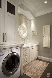 Decorations:Luxury Laundry Room Design With White Painting Idea Cool Color  for Laundry Room Ideas