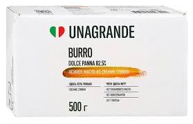 <b>Unagrande Масло сливочное</b> Burro dolce panna 82.5%, 500 г ...