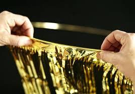 marvelous gold fringe chandelier gold metallic foil fringe chandelier
