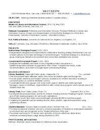 Sample Resume Librarian Penza Poisk