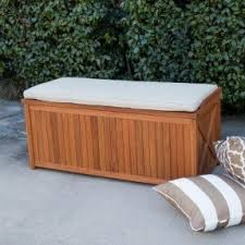 diy wood deck box. belham living brighton outdoor storage deck box with cushion - diy wood n