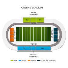 Greene Stadium Seating Chart North Carolina Central Eagles At Howard Bison Tickets 11 2