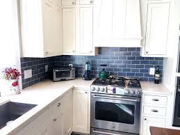 kitchen blue glass backsplash. Blue Glass Tile Backsplash Kitchen N