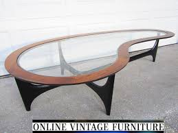Biomorphic Coffee Table Restored 1960s Lane Amoeba Table Vintage Mid And 50 Similar Items