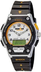 timex ironman classic t5k200 wrist watch for men timex men s ironman endure combo shock 30 lap watch t5k200
