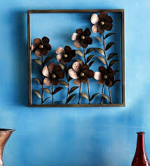 wrought iron fl frame in copper