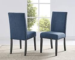 Kitchen & Dining Room Chairs - Blue / Chairs ... - Amazon.com