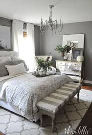decorating with grey furniture. Dear Lillie: Fall House Tour 2015 (Bench At The End Of Bed). Stunning Bedroom In Gray Decorating With Grey Furniture P