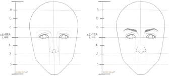 3d artwork collage into 1. How To Draw A Female Face In 8 Steps Rapidfireart