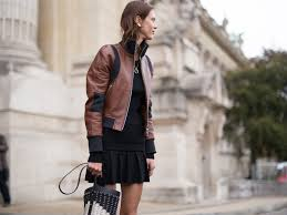 brown leather jackets to wear over and over again this fall