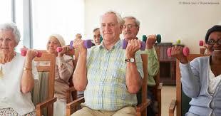 chair exercises for seniors. chair exercises for seniors