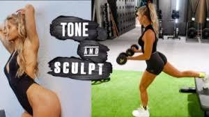 full body tone sculpt plete workout fit life videos