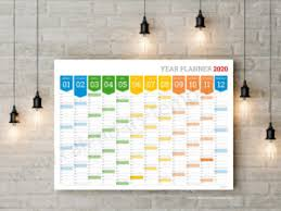 Daily Planner Template 2020 2020 Calendars And Planners Templates Yearly Monthly