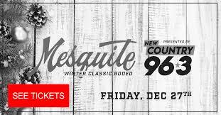 2019 Schedule Mesquite Rodeo
